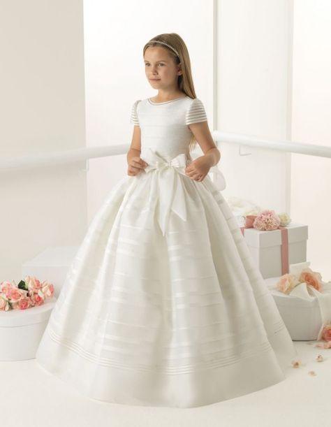 Vestidos para primera comunion niña clásicos