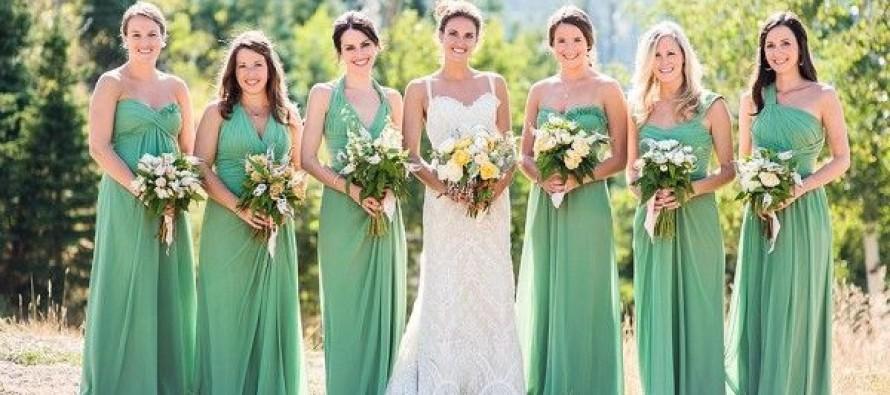 Vestidos para damas de boda
