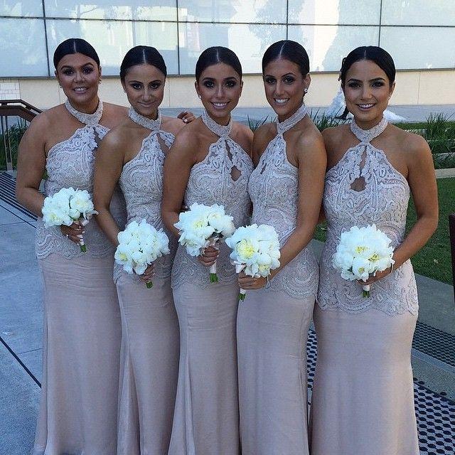 Vestidos de damas para boda 2019