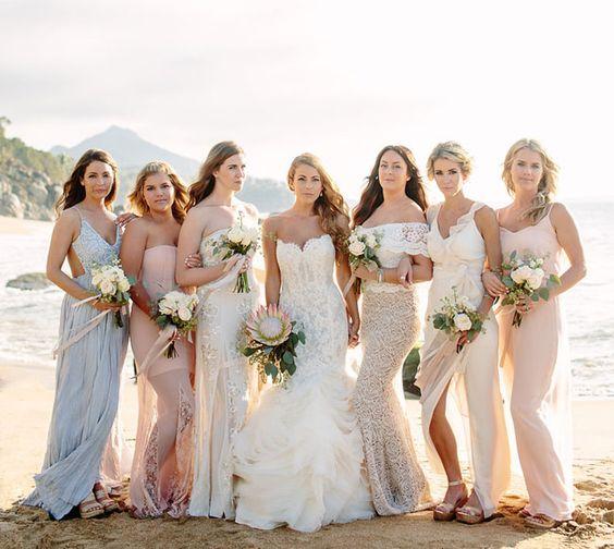 Vestidos Para Damas De Bodas En La Playa 13