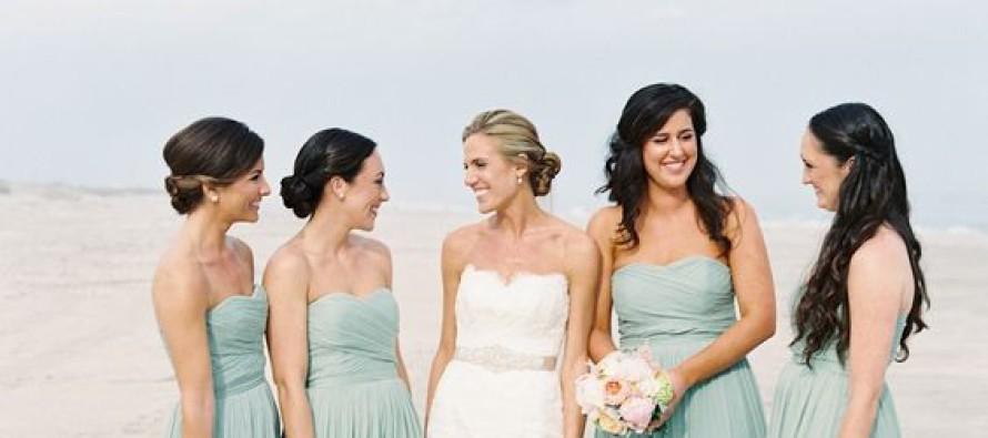 Vestidos para damas de bodas en la playa