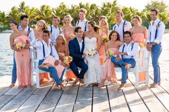 Vestidos para embarazadas para boda en la playa