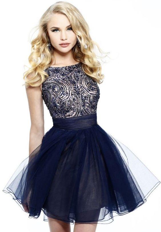 32ce637c4 Vestidos para fiesta de grado cortos - Vestidos elegantes