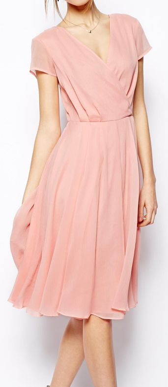 Dusty pink dress what color shoes to wear with orange dress