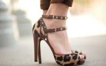 Zapatos con detalles animal print