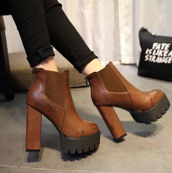 botas de tobillo