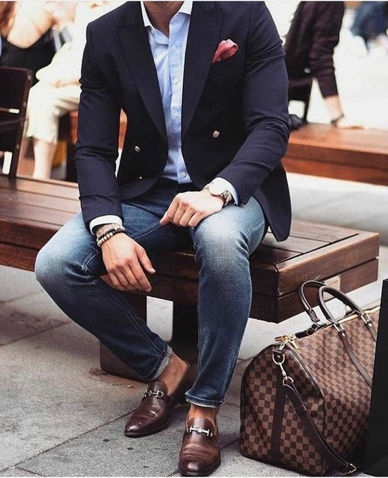f0f759d5e Outfits informales con blazer para hombre Outfits informales con blazer para  hombre
