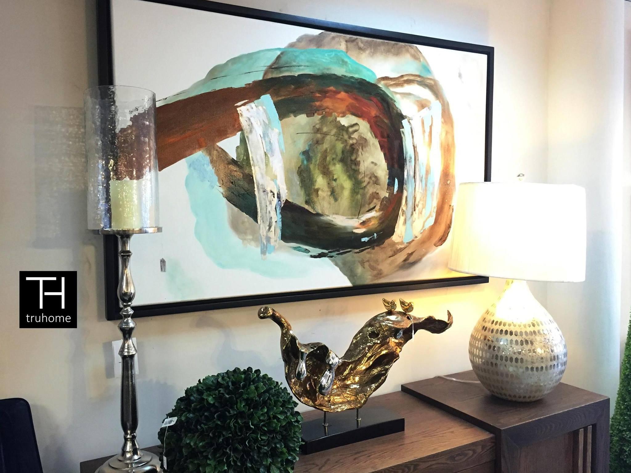 Tendencias en decoracion con cuadros al oleo 1 - Decoracion de interiores con cuadros ...