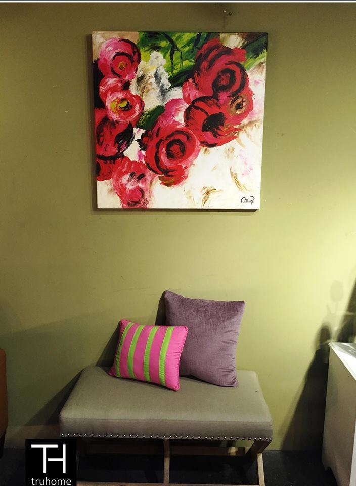 Tendencias en decoracion con cuadros al oleo 9 - Cuadros de interiores ...