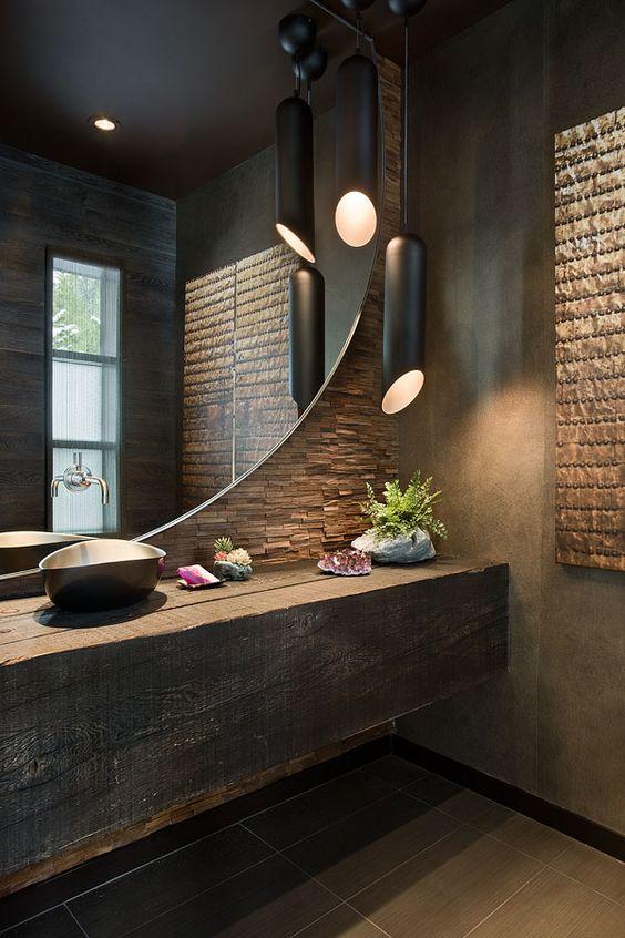 Ba os modernos y elegantes 1 como organizar la casa for Decoracion de banos modernos y elegantes