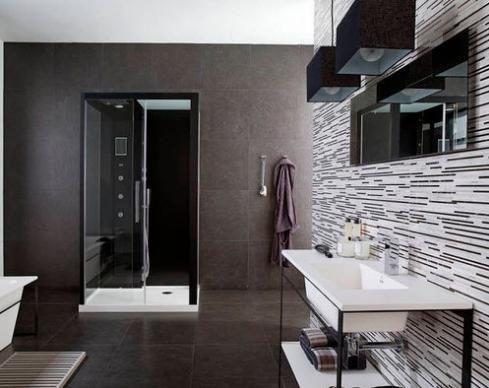Ba os modernos y elegantes 17 como organizar la casa for Decoracion de banos modernos y elegantes