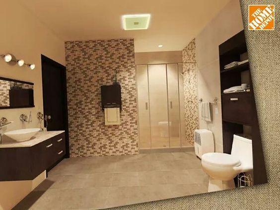 Ba os modernos y elegantes 20 decoracion de interiores for Banos modernos y pequenos 2016