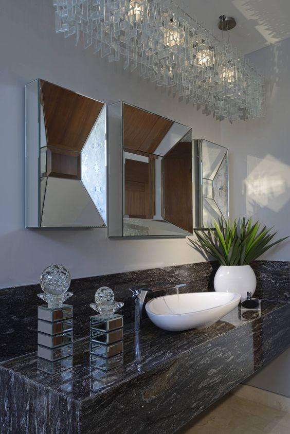 Ba os modernos y elegantes 23 decoracion de interiores for Banos interiores para casa