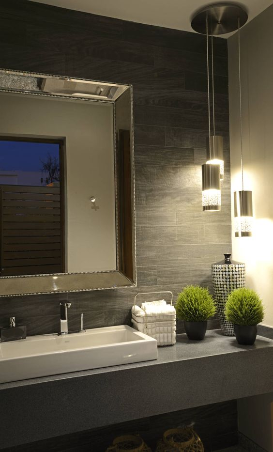 Ba os modernos y elegantes 3 decoracion de interiores for Decoracion banos modernos 2016