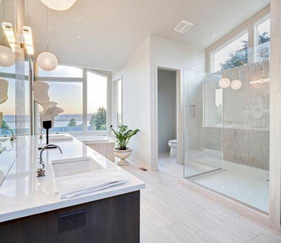 Ba os modernos y elegantes 4 decoracion de interiores for Banos modernos elegantes