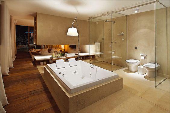 Ba os modernos y elegantes 6 decoracion de interiores for Banos modernos elegantes