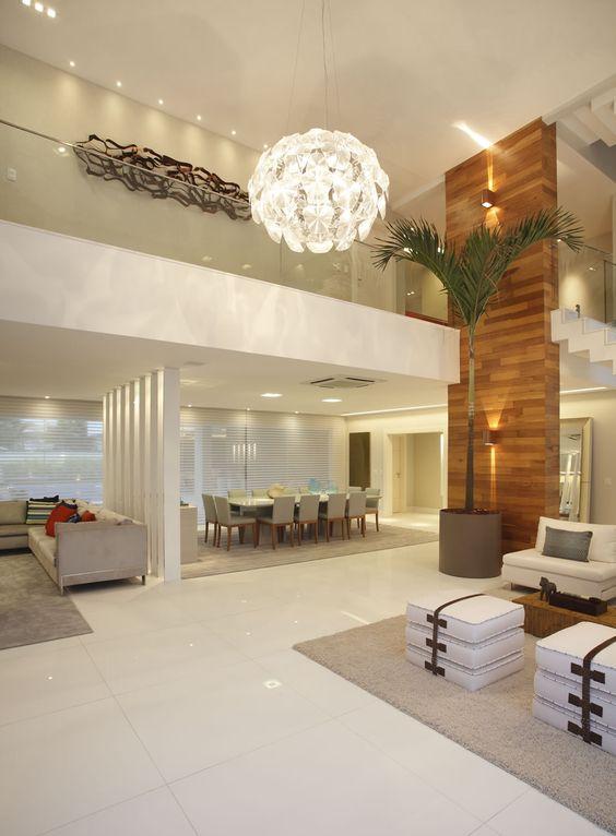 Decoracion de sala y comedor en espacios grandes (11)