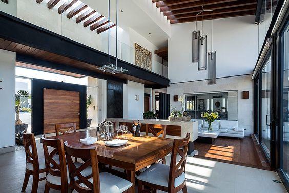 Decoracion de sala y comedor en espacios grandes 6 for Comedor y sala de estar decorados