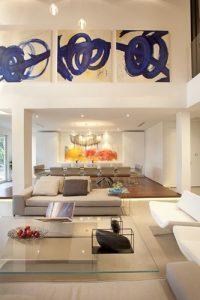 Decoracion de sala y comedor en espacios grandes (7)