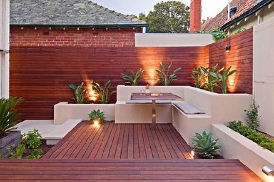 dise os de patios y jardines minimalistas 11