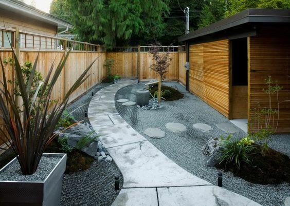 diseos de patios y jardines minimalistas 13 - Jardines Minimalistas