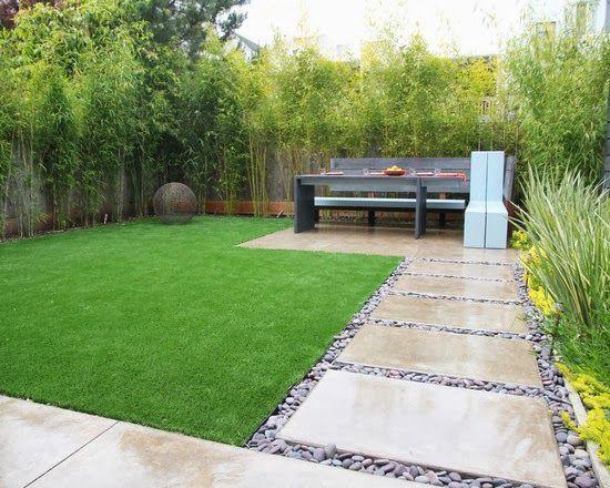 Diseños de patios y jardines minimalistas (17)