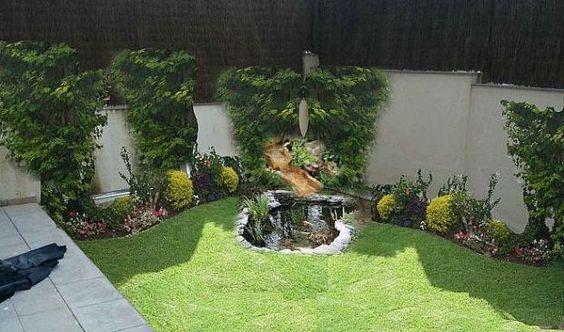 diseos de patios y jardines minimalistas 25 - Jardines Minimalistas