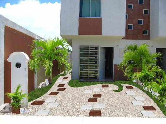 Diseños de patios y jardines minimalistas (7)