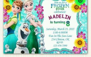 Fiesta tematica de frozen fiebre congelada