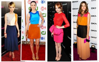 Ideas de outfits color blocking