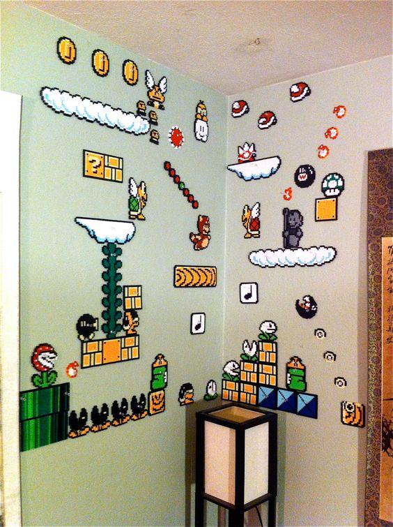 Ideas para cuartos de video juegos 2 decoracion de - Juegos de organizar casas ...
