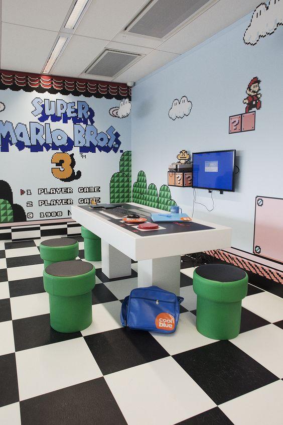 Ideas para cuartos de video juegos 4 decoracion de - Juegos decoracion de interiores ...