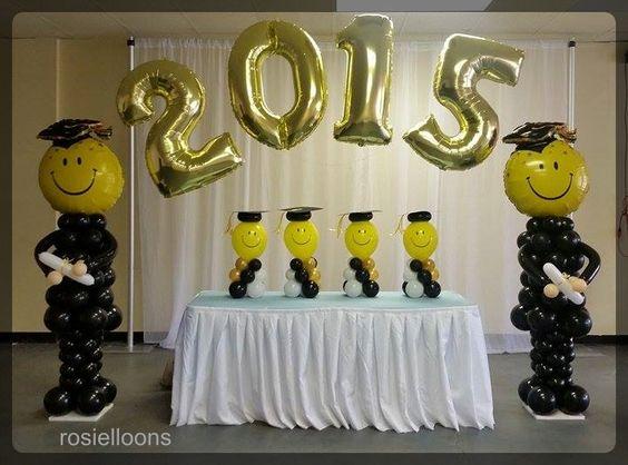 Ideas para fiesta de graduacion decoracion de interiores for Decoracion grado universidad