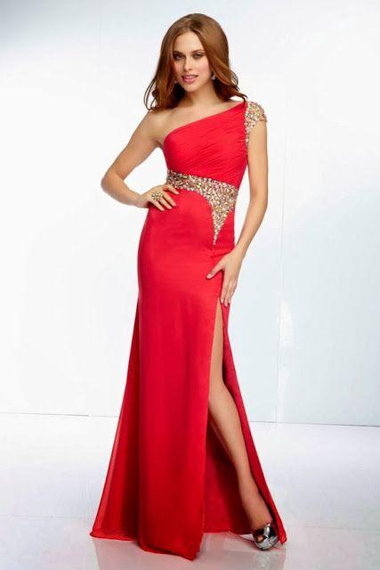 Vestidos de color rojo para fiesta