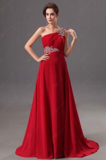 10abec0b4 Vestidos de gala color rojo (17)