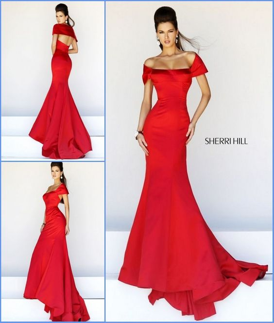 342ef8060 Vestidos de gala color rojo (20)