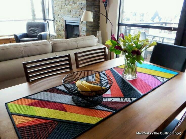 Caminos para mesa 12 decoracion de interiores fachadas - Caminos para mesas ...