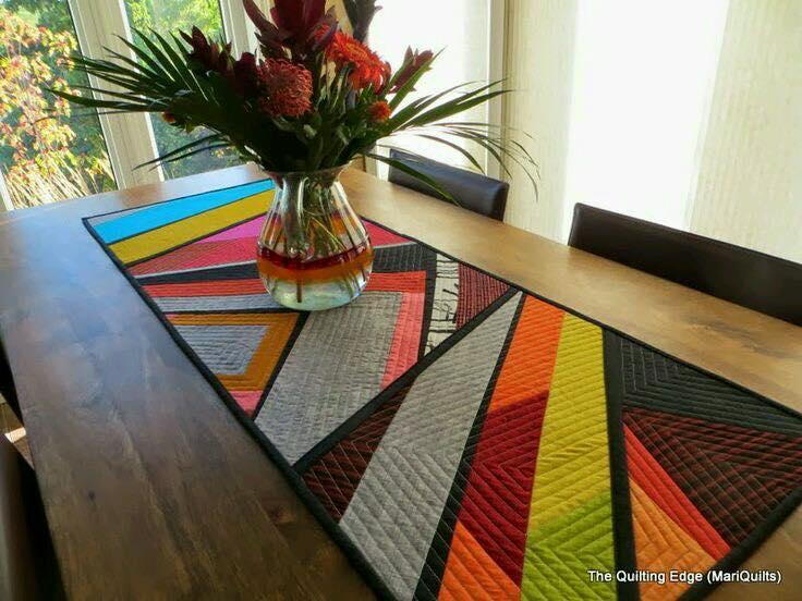 Caminos para mesa 20 decoracion de interiores fachadas - Caminos para mesas ...