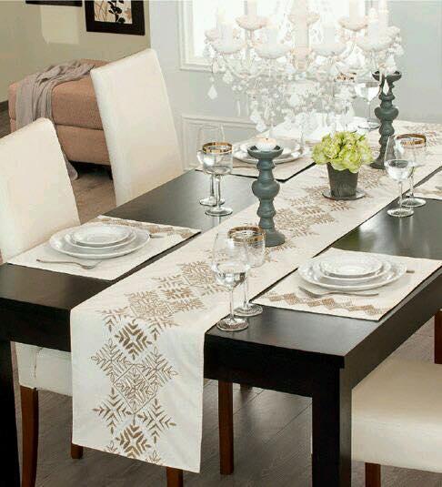 caminos para mesa 6 decoracion de interiores fachadas ForCaminos Para Mesas