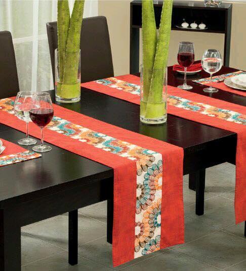 Caminos para mesa 7 decoracion de interiores fachadas for Caminos para mesas