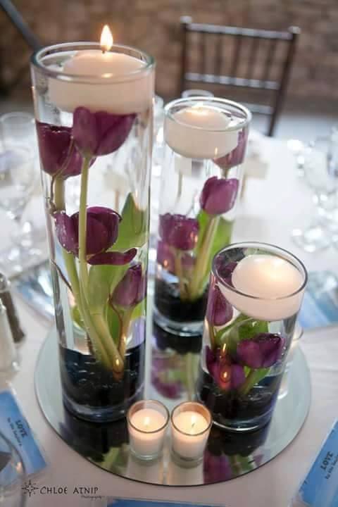 Centros de mesa para bodas 25 decoracion de interiores for Centros de mesa para casa