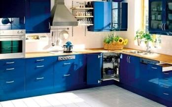Cocinas integrales de colores