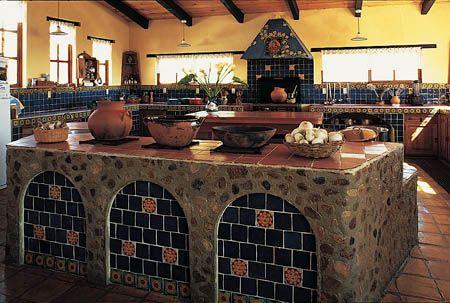 Cocinas rusticas tradicionales 12 decoracion de Casas rusticas mexicanas