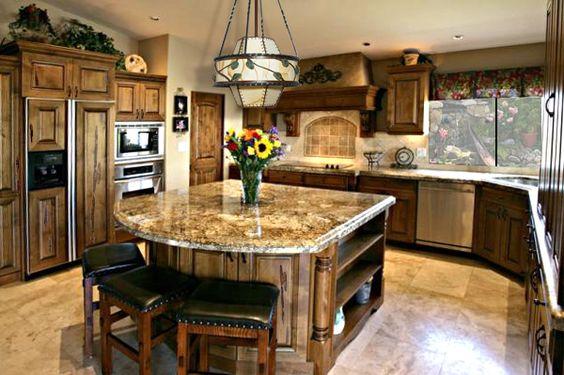 Cocinas rusticas tradicionales como organizar la casa fachadas decoracion de interiores - Disenos de cocinas rusticas ...
