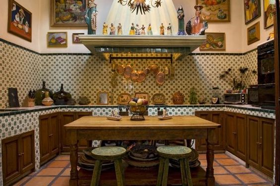 Cocinas rusticas tradicionales 20 decoracion de for Cocinas rusticas mexicanas