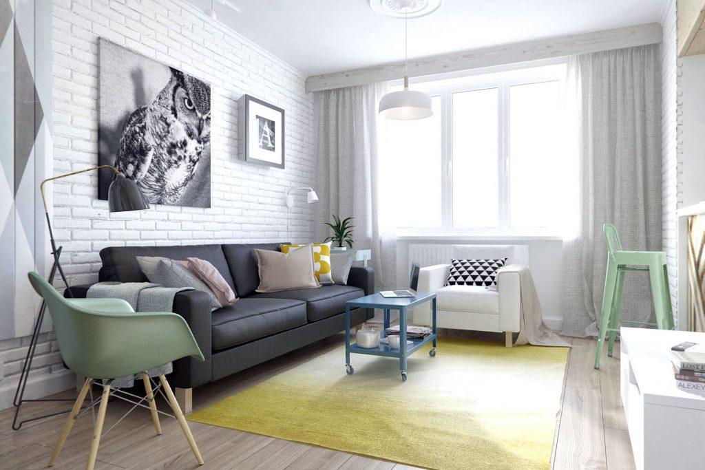 Como acomodar los muebles en una casa pequeña