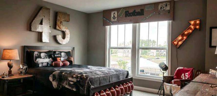 Como decorar una habitacion con toques masculinos curso - Como amueblar una habitacion pequena ...