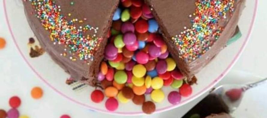 Como hacer pastel sorpresa o piñata
