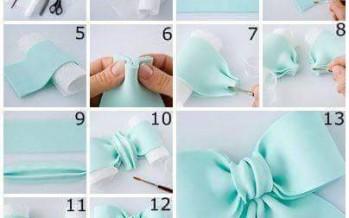 DIY y  tutoriales para hacer moñitos