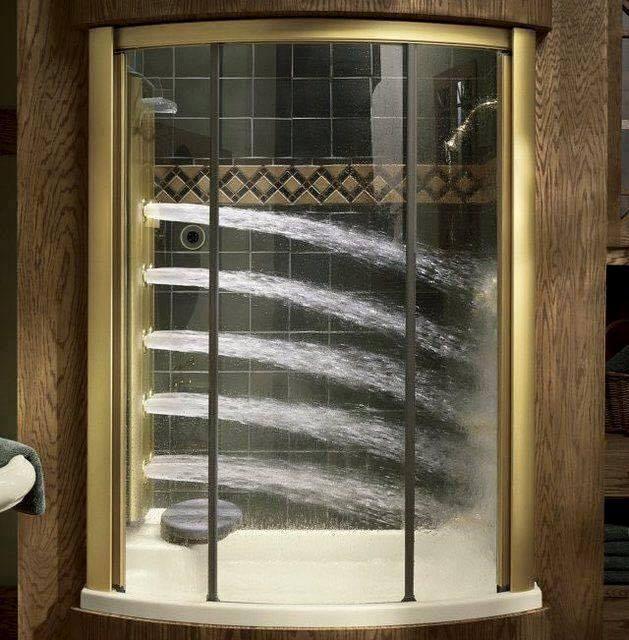 Regadera De Baño Moderna:de baños con regaderas modernas (3)